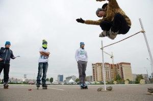 Free jump на Роллер фест 2013