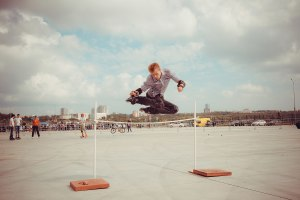 Free jump на Роллер фест 2014